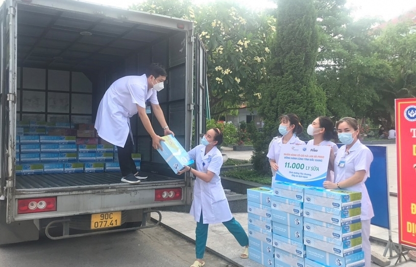 FrieslandCampina extends  milk programme to hospitals