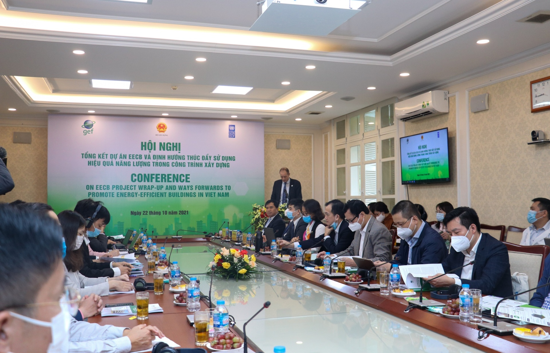 Promotion of energy efficiency in residential and commercial buildings