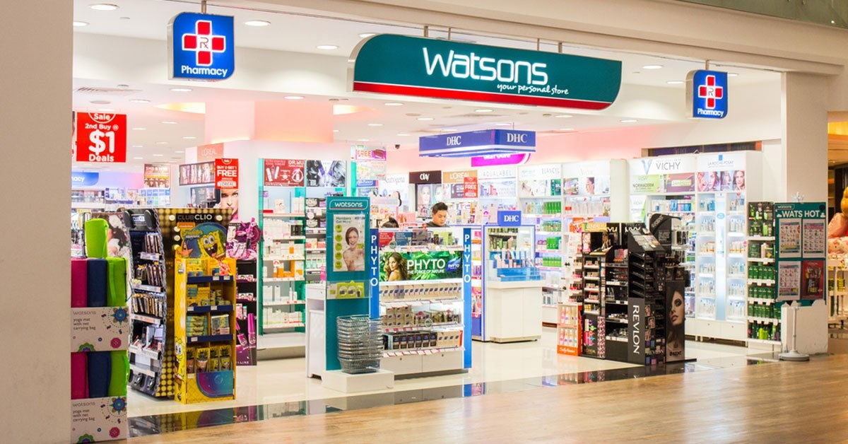 Watsons launches the first store in Vietnam