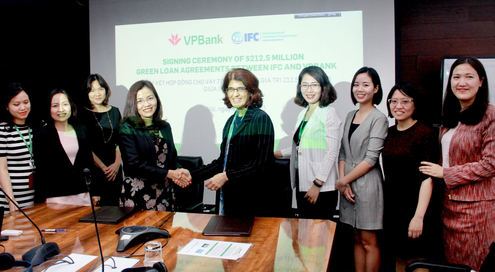 vpbank receives 2125 million loan from ifc for green projects