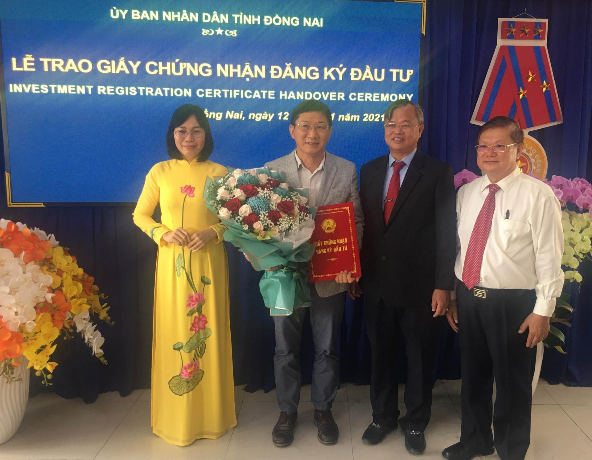 Dong Nai greenlights three FDI projects worth $190 million