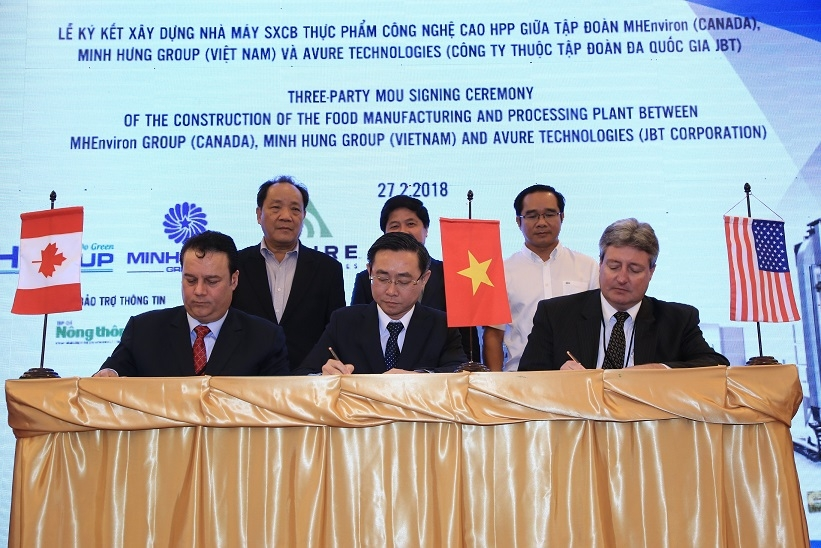 Long An to receive US and Canada-invested hi-tech food processing plant