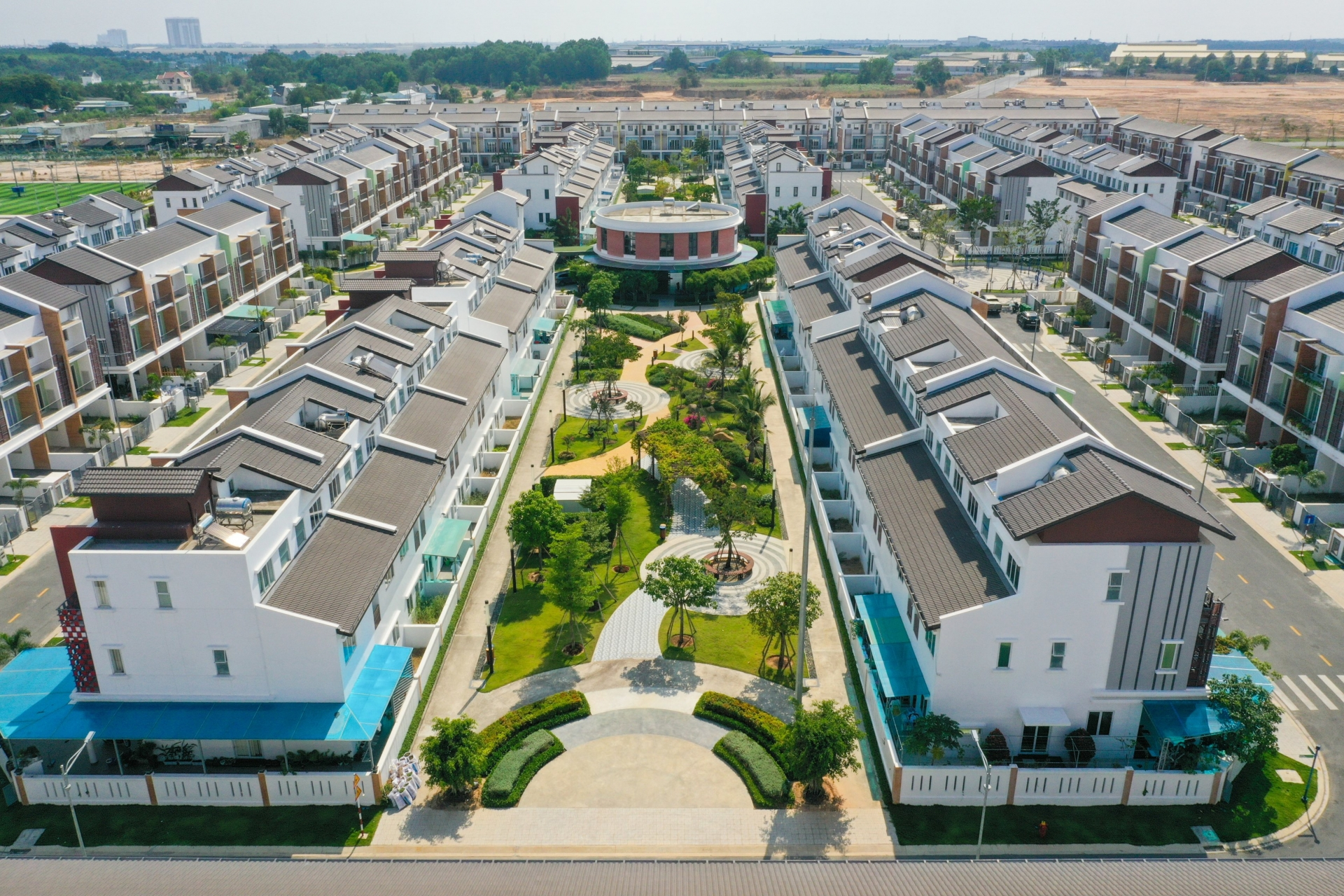 Sun Casa Central – Another successful housing project by VSIP in Binh Duong