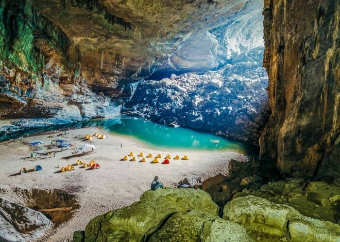 Son Doong expedition tour attracts visitors