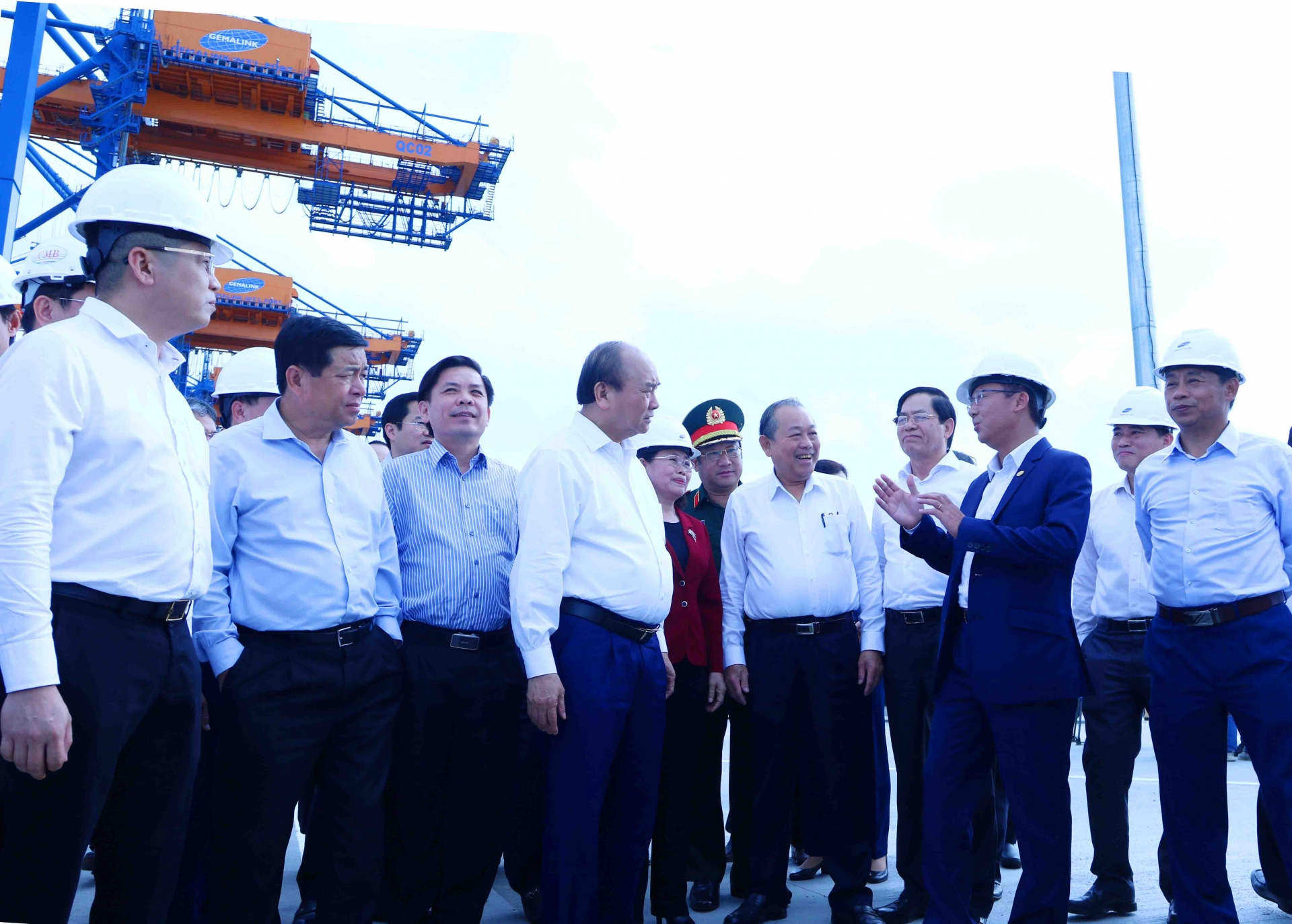 vietnams largest deep seaport gemalink to reach 80 per cent capacity this year