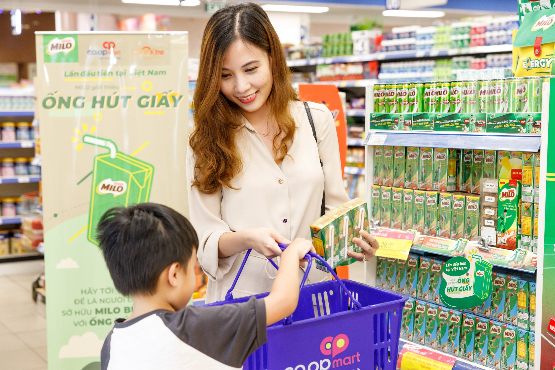 Nestlé MILOlaunches paper straws for MILO Breakfast Drink to promote green consumption trends