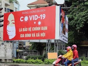 bidv tower responds to covid 19 fight in vietnam