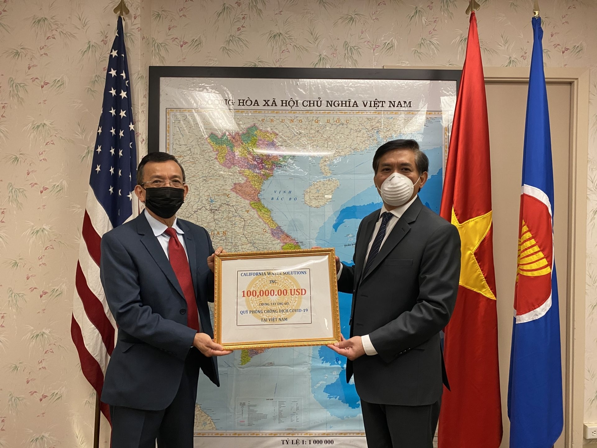 david duong donates 100000 to vietnams covid 19 relief efforts