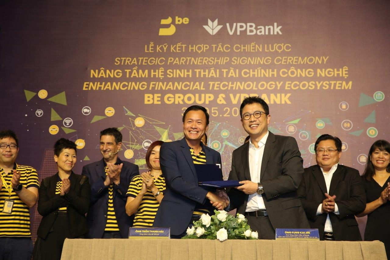 BE Group and VPBank tie up to roll out payment and financial services