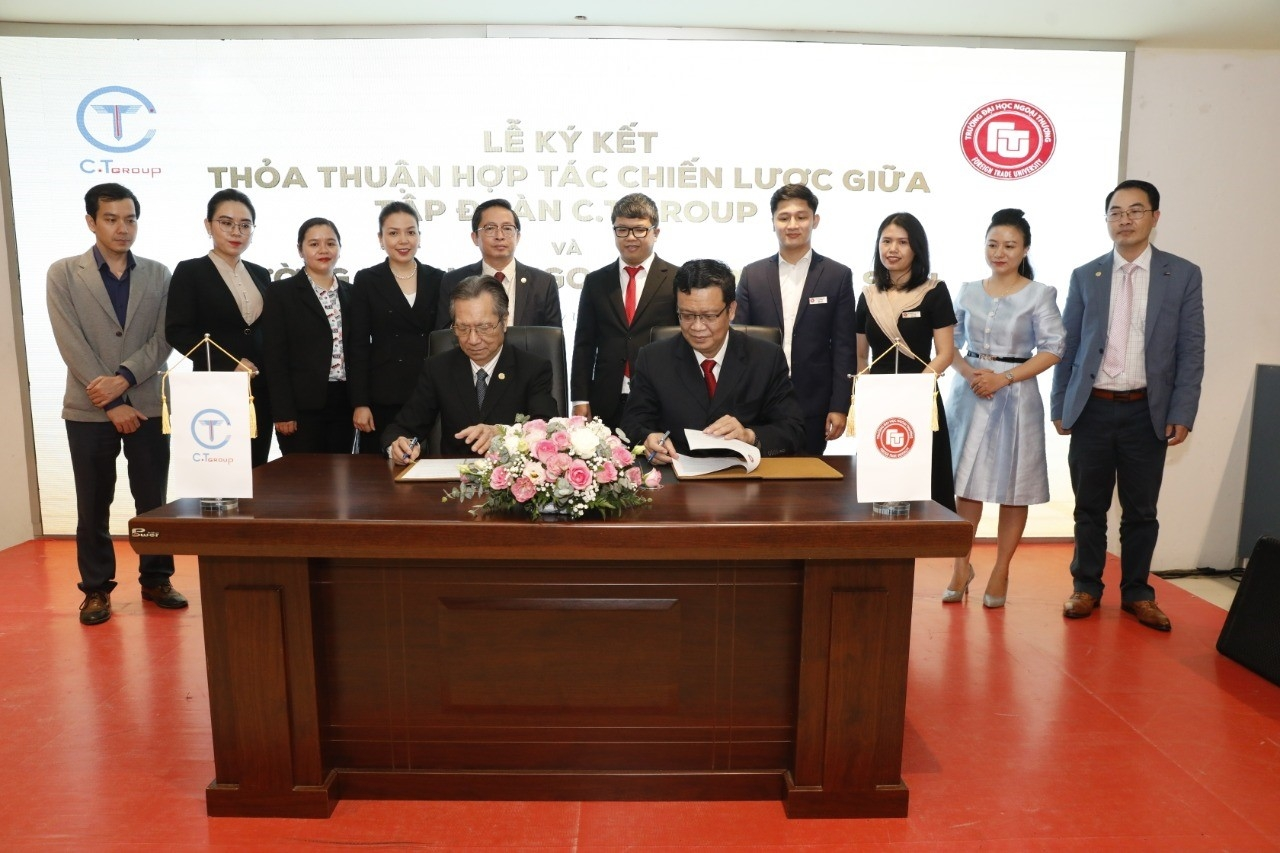 C.T Group signs comprehensive cooperation with Foreign Trade University