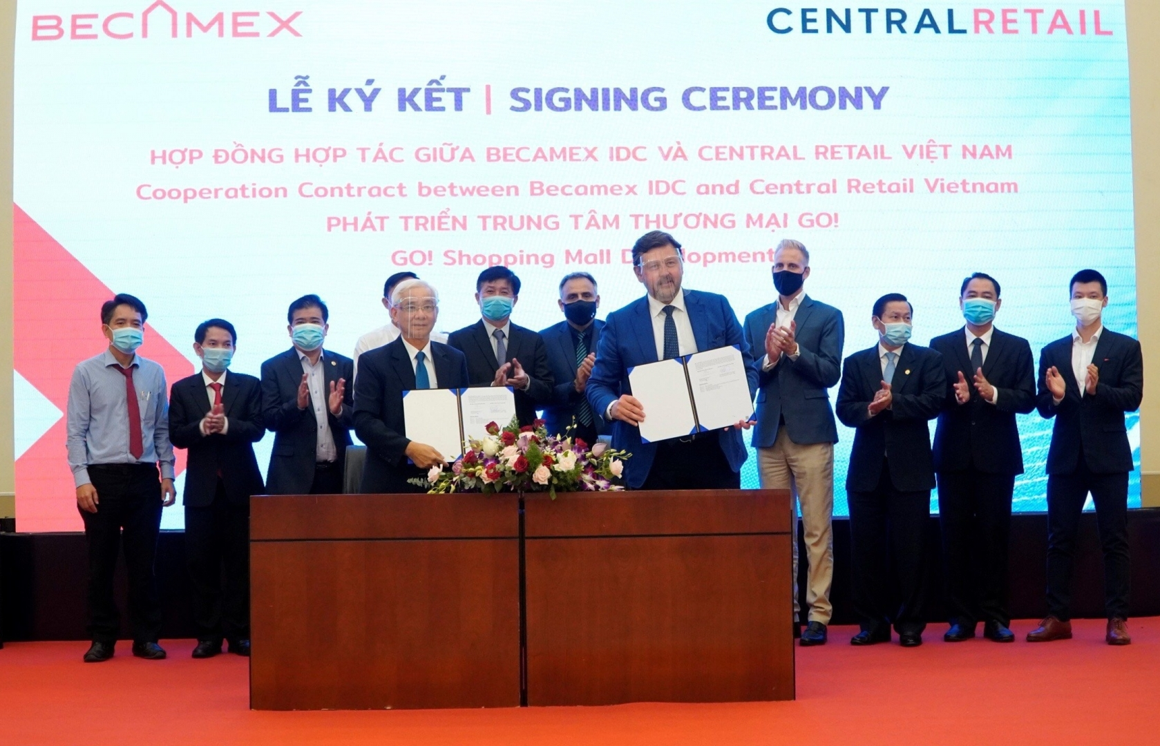 Becamex IDC and Central Retail Vietnam co-develop GO! shopping mall in Binh Duong