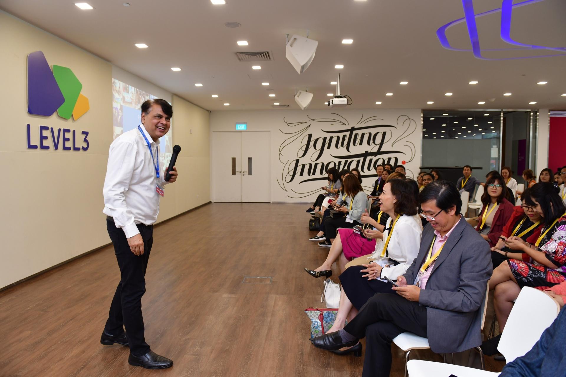 60 leaders join Talentnet Business Innovation Showcase 2019