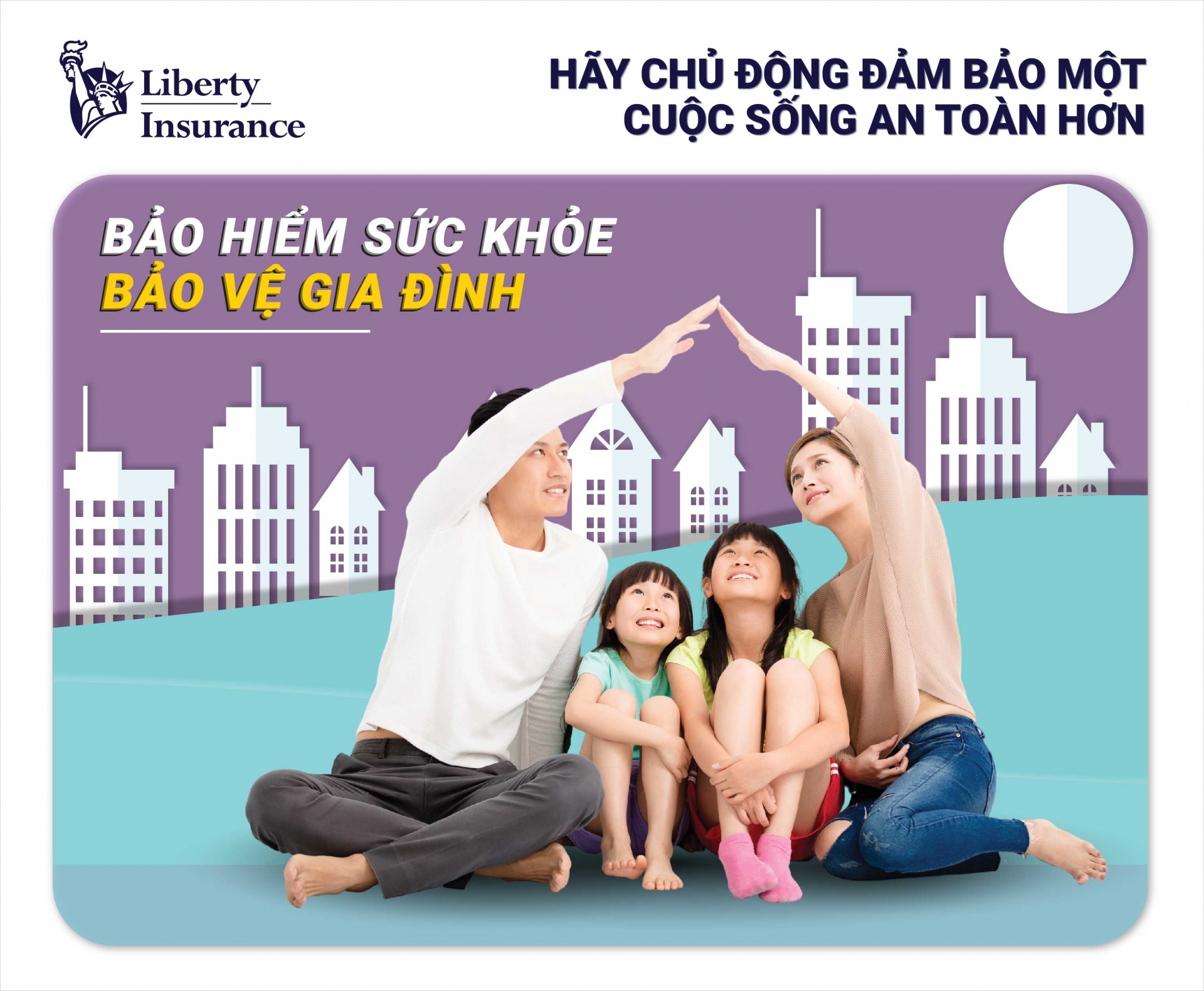 Liberty Insurance launches FamilyCare medical insurance for Vietnamese families