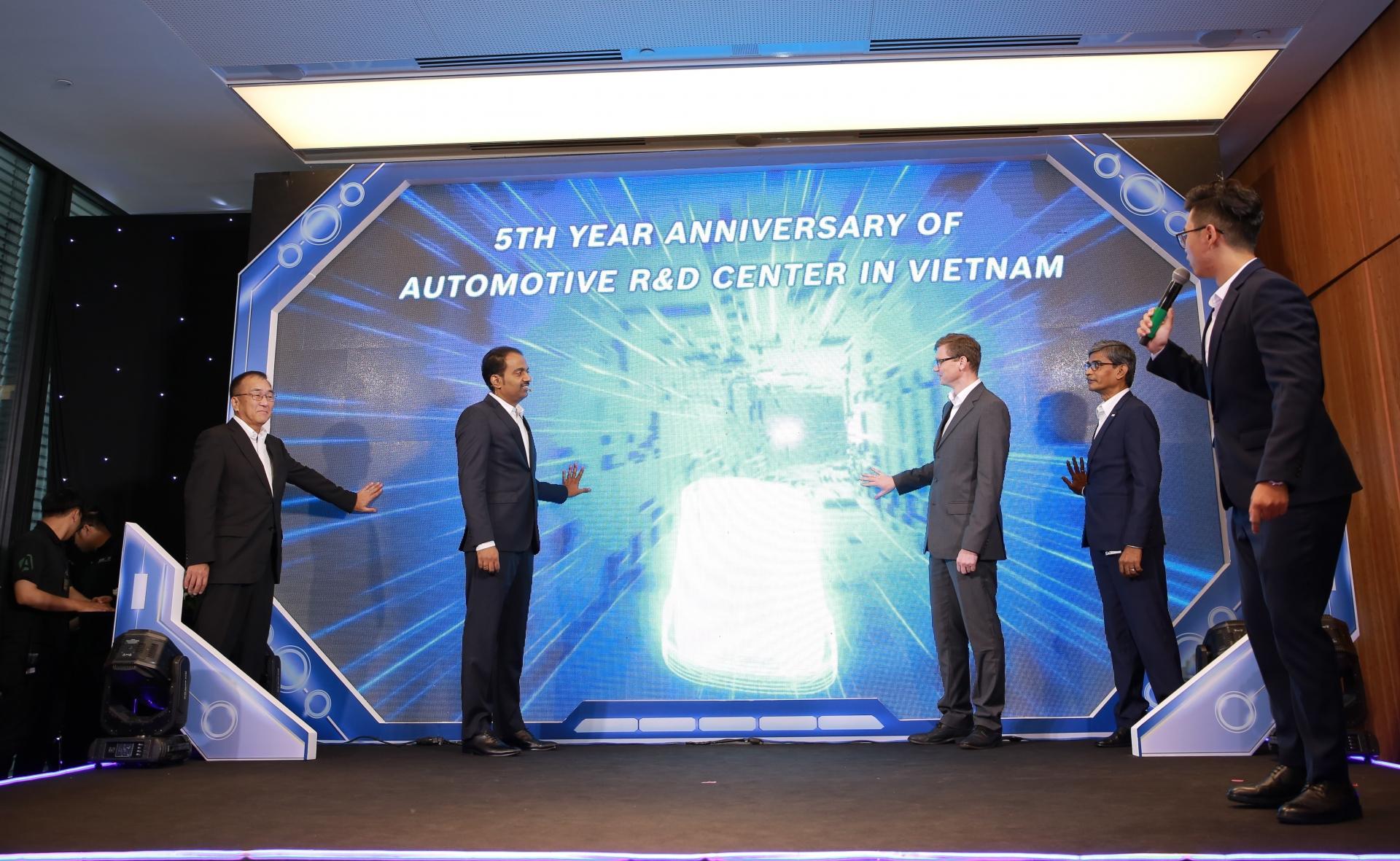 Bosch celebrates fifth anniversary of automotive R&D centre in Vietnam