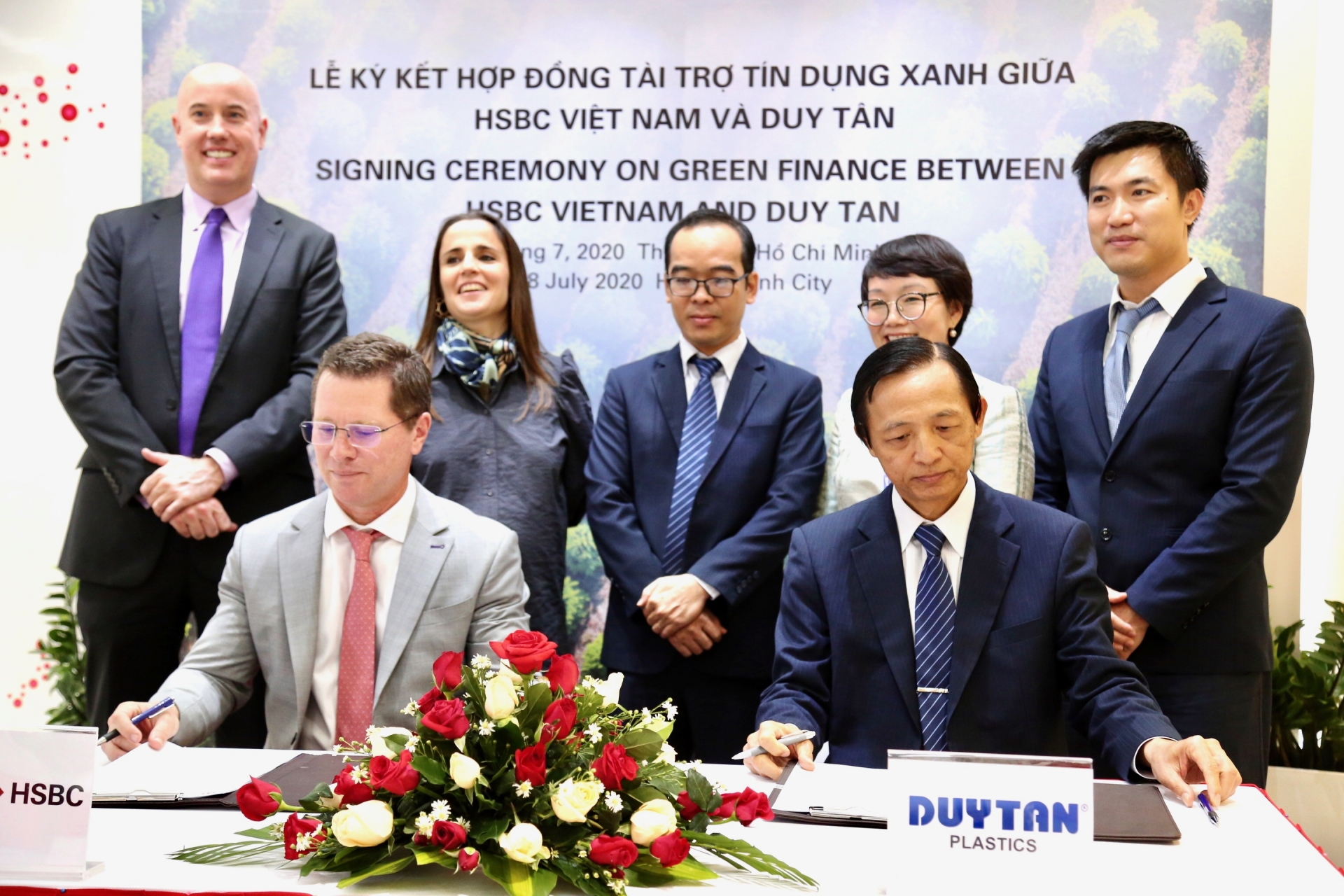 HSBC Vietnam rolls out first green financing package for Duy Tan Plastics Recycling