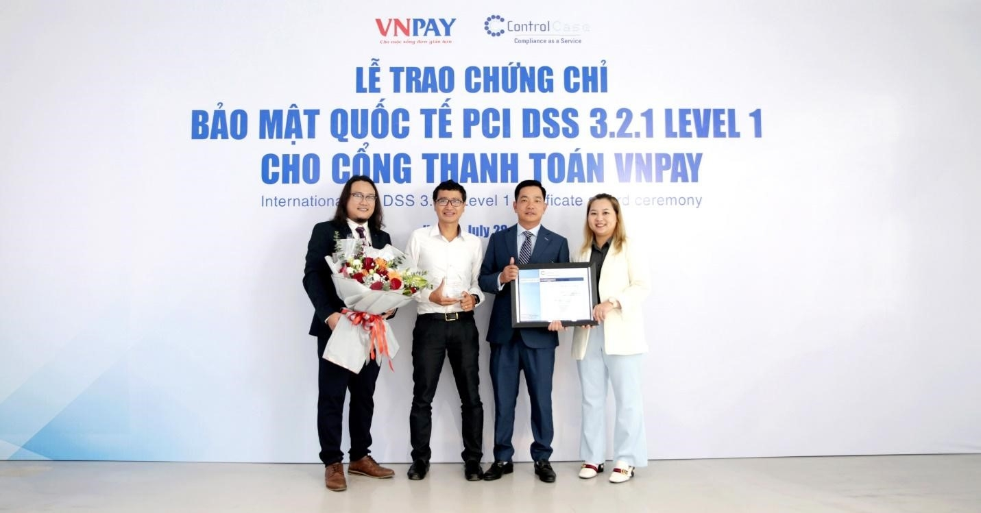 vnpay gets certified at highest level of international security standards
