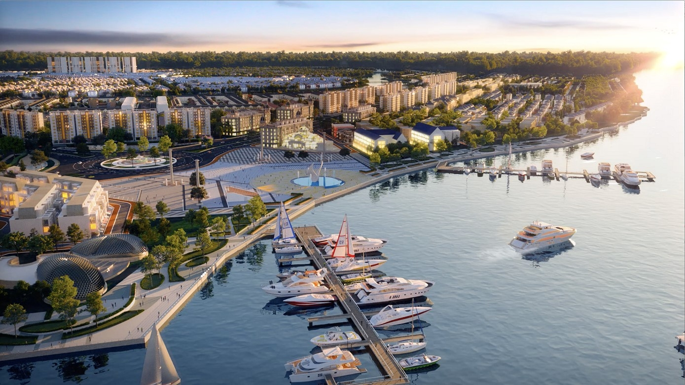 Marina-integrated real estate: new lifestyle for Vietnamese elite