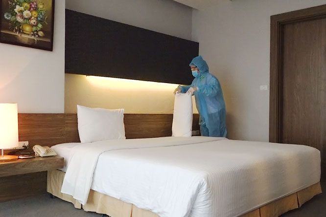 People in Ho Chi Minh City can book quarantine hotels online