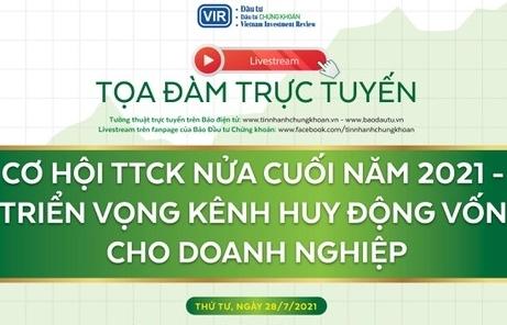 VIR to hold webinar on stock market opportunities in H2/2021