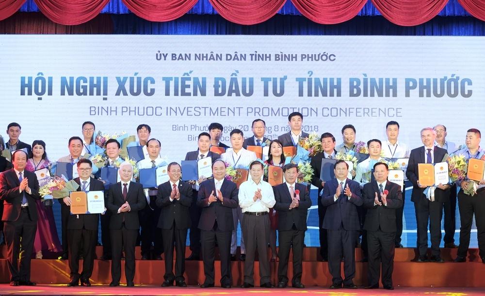 Binh Phuoc licenses 24 projects worth $1 billion