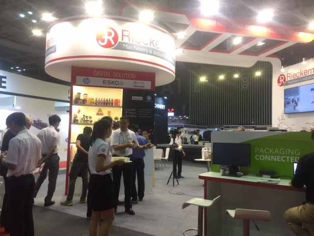 380 exhibitors offer latest technology at Vietnam PrintPack & Foodtech