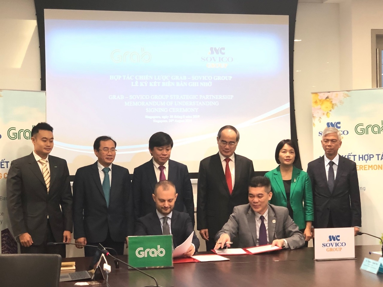 grab and sovico group sign comprehensive strategic partnership