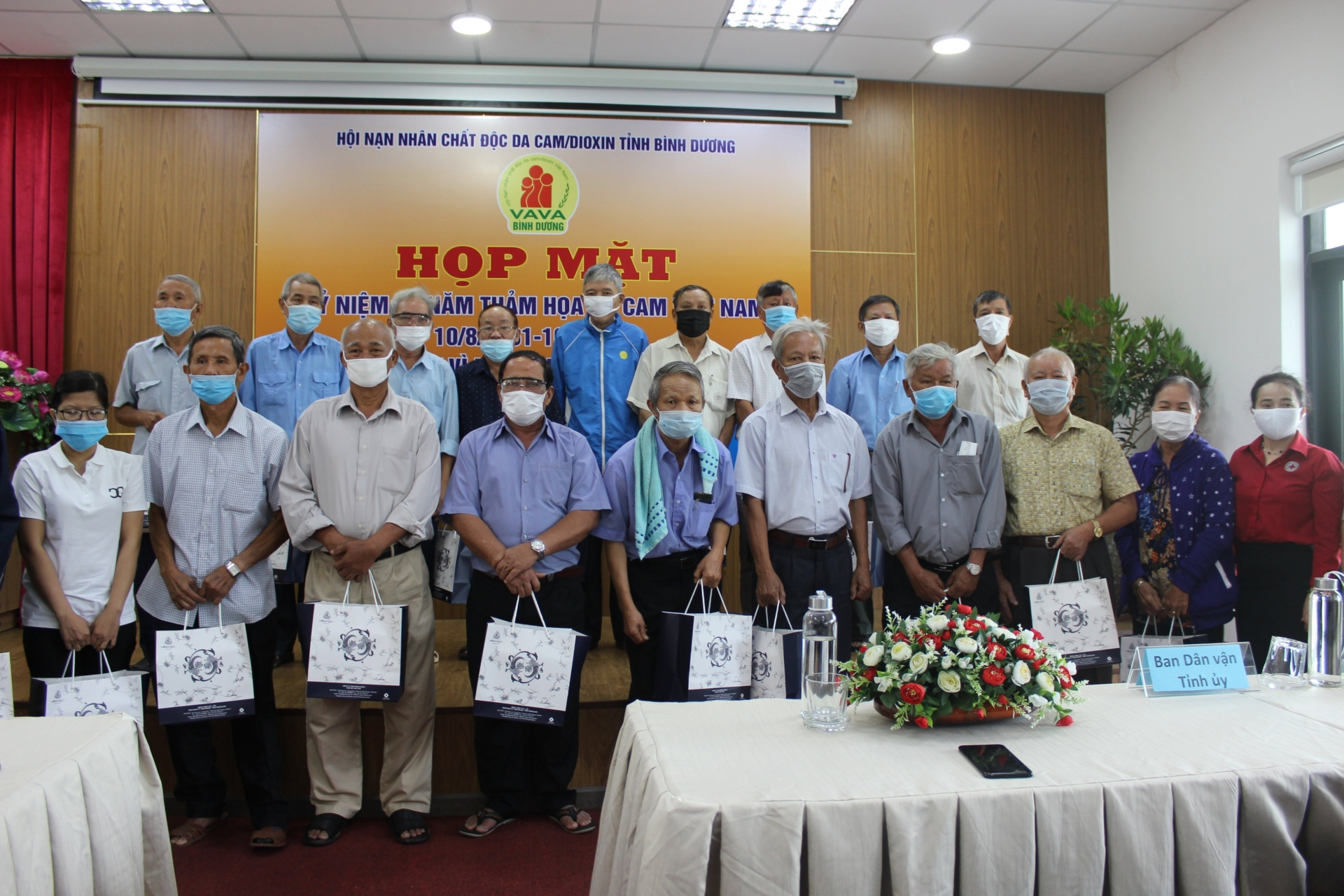 VSIP supports victims of Agent Orange/Dioxin in Binh Duong