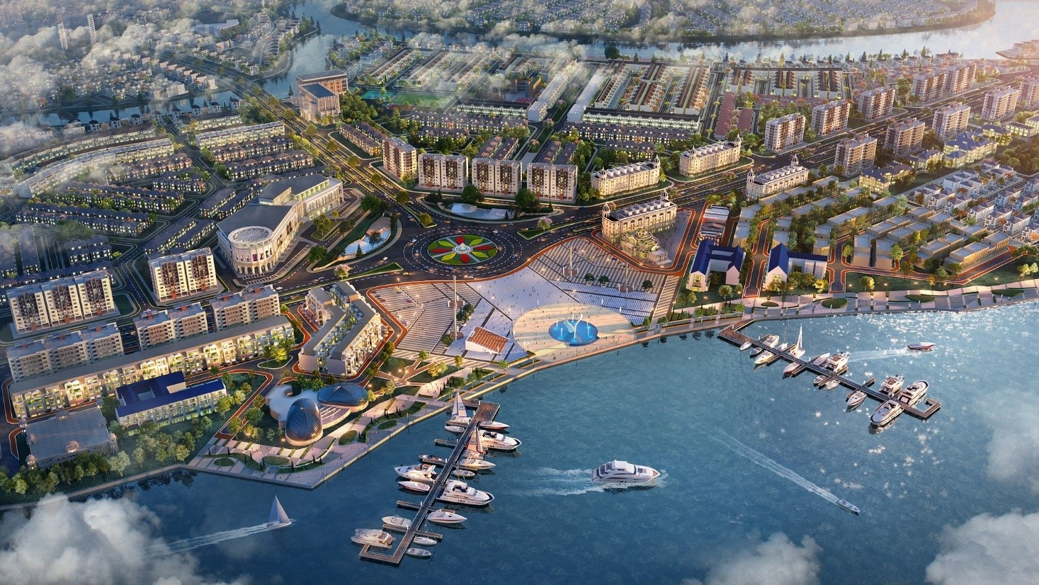 A townhouse next to the marina: The attraction of rare property assets