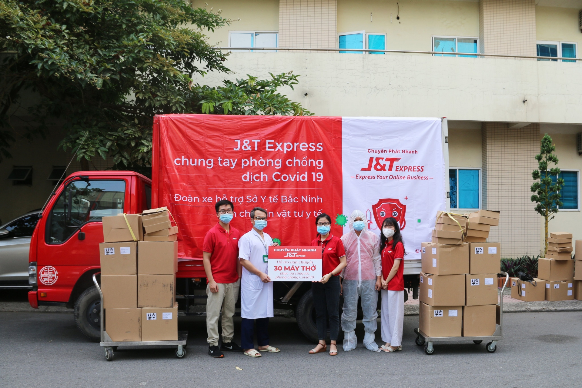 J&T Express launches COVID-19 relief fund to support employees
