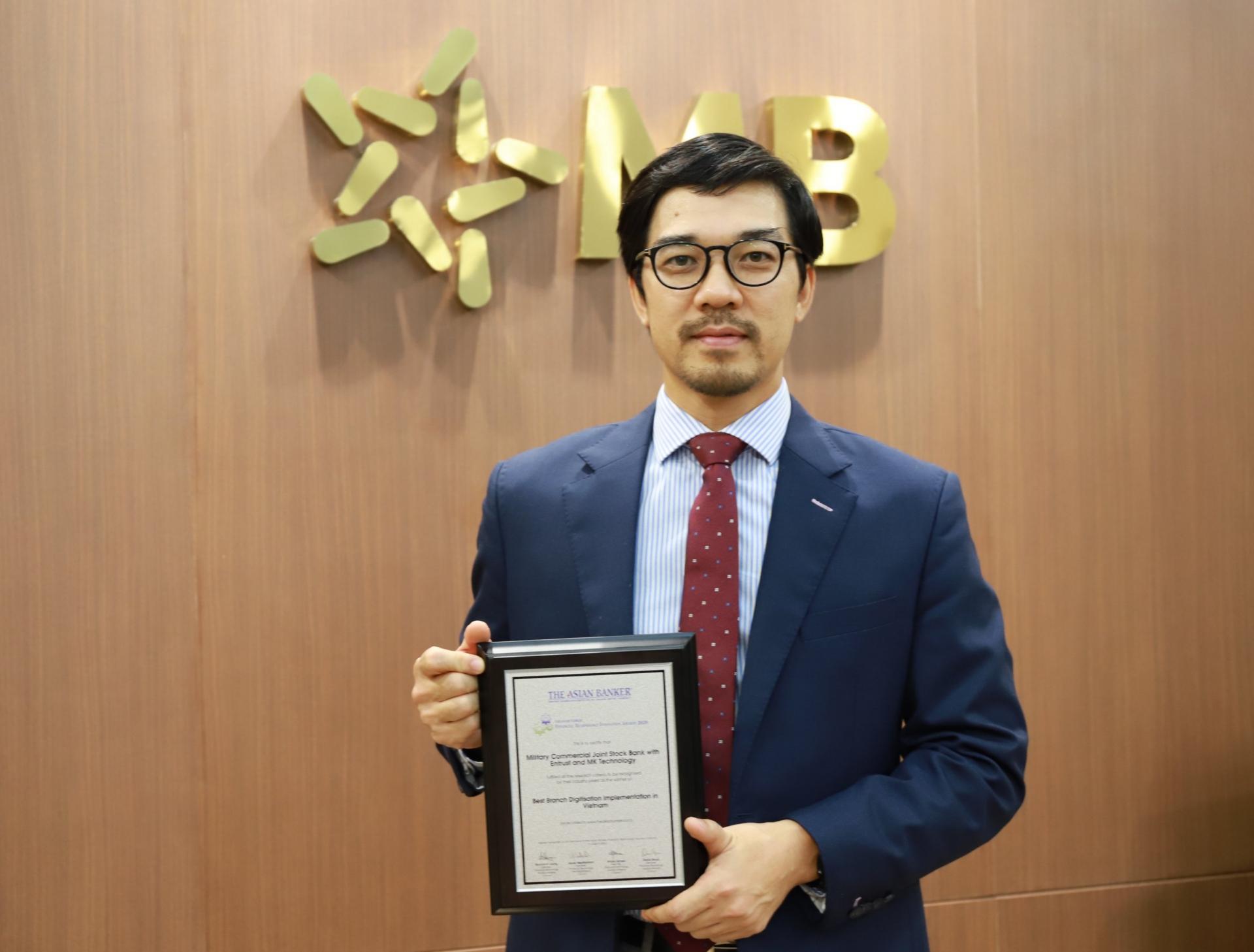 MB wins Best Branch Digitisation Implementation in Vietnam award
