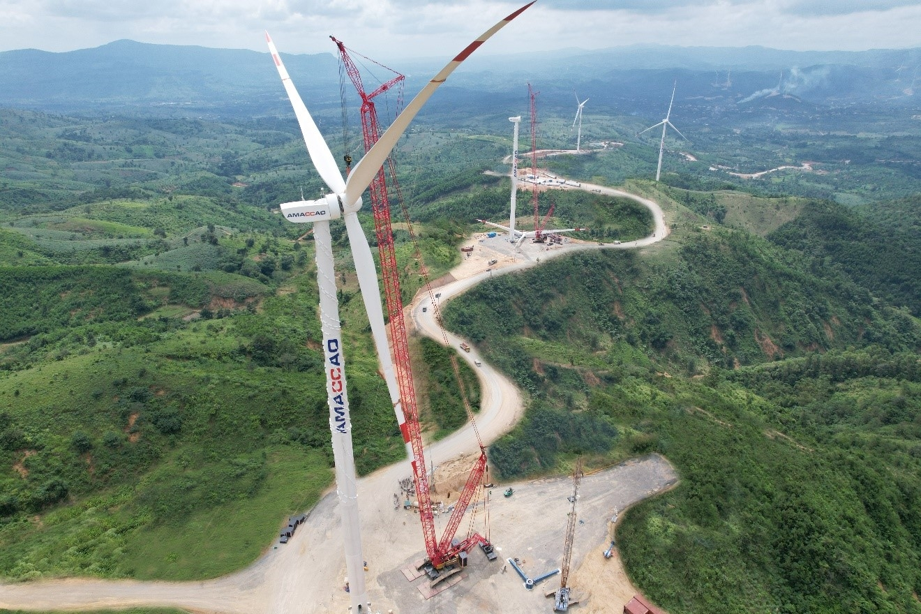 Double miracle for incredible installation speed in Vietnam's wind power sector