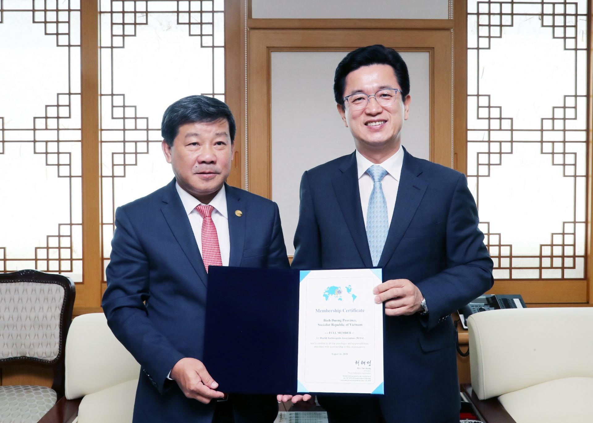Binh Duong selected to host 20th World Technopolis Association