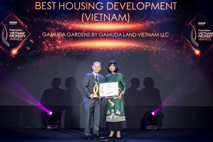 Gamuda Land wins Best Housing Development in Vietnam at VPA 2019