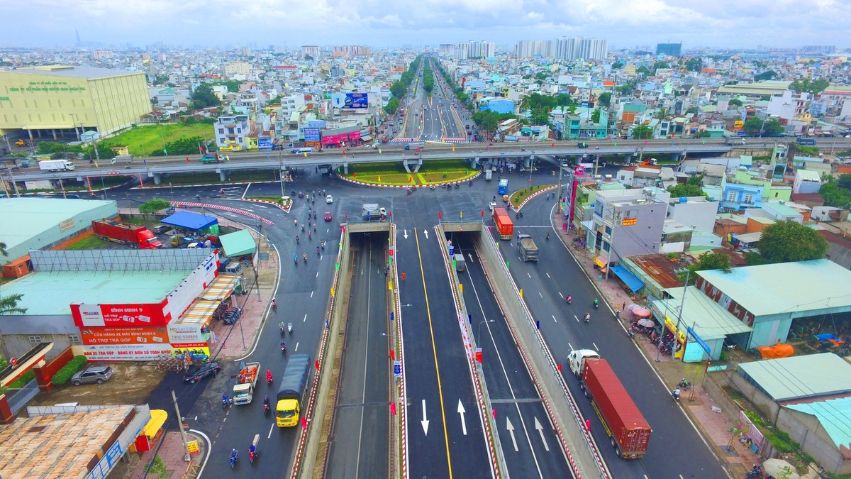 Completed An Suong intersection opens up Ho Chi Minh City traffic