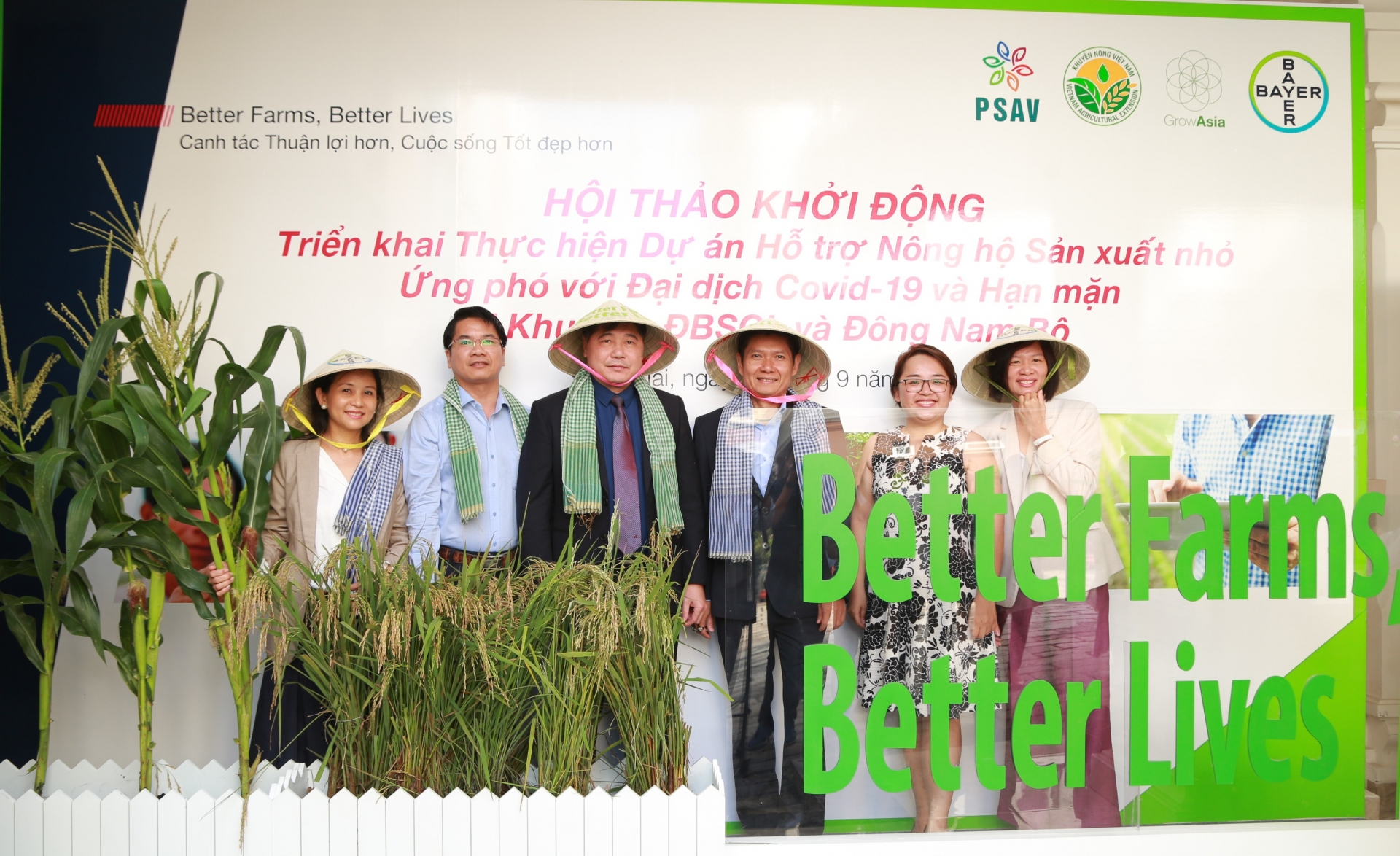 Mekong Delta smallholder farmers to receive COVID-19, drought, and saline intrusion support