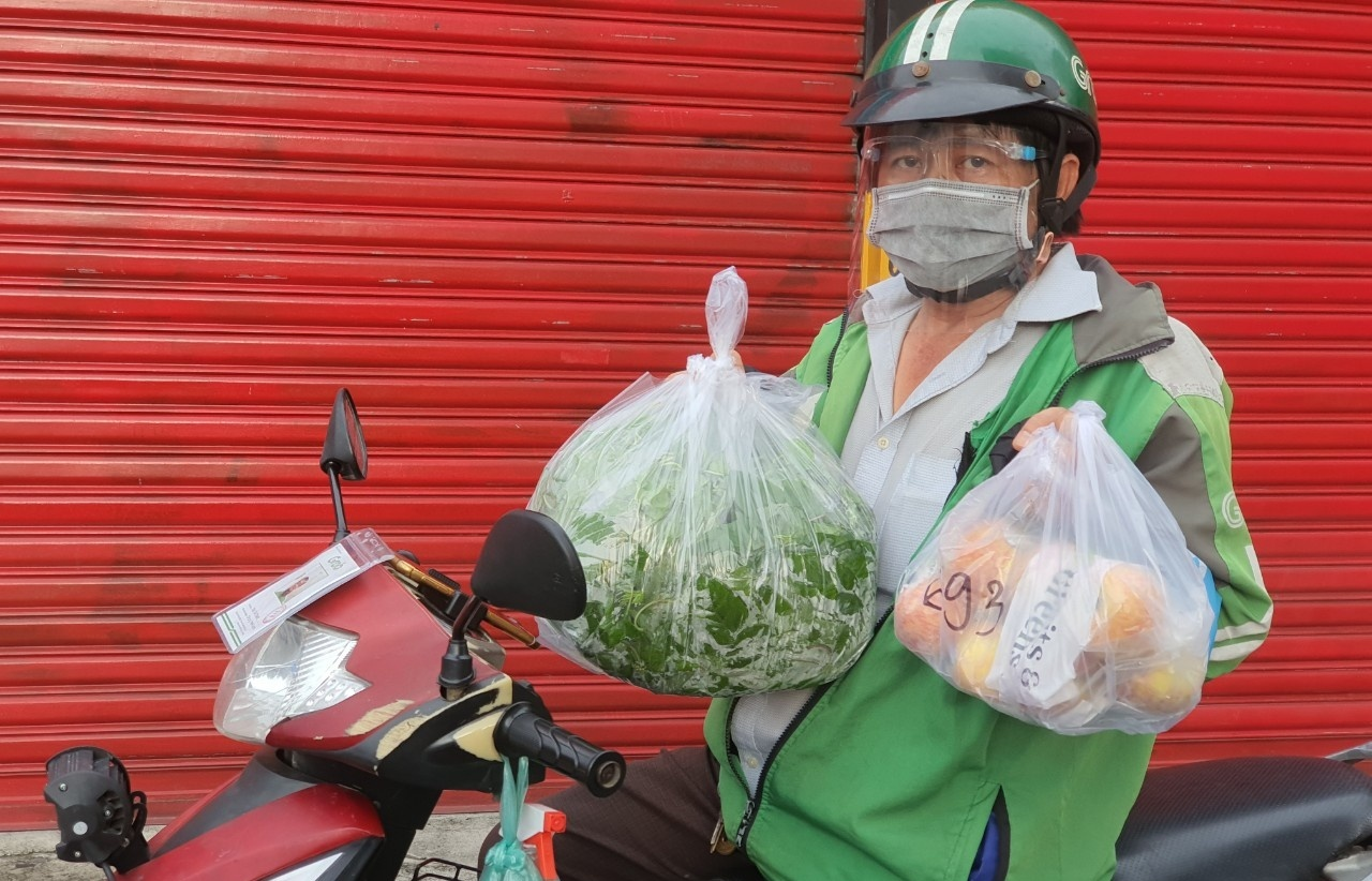Food delivery resumed in Ho Chi Minh City