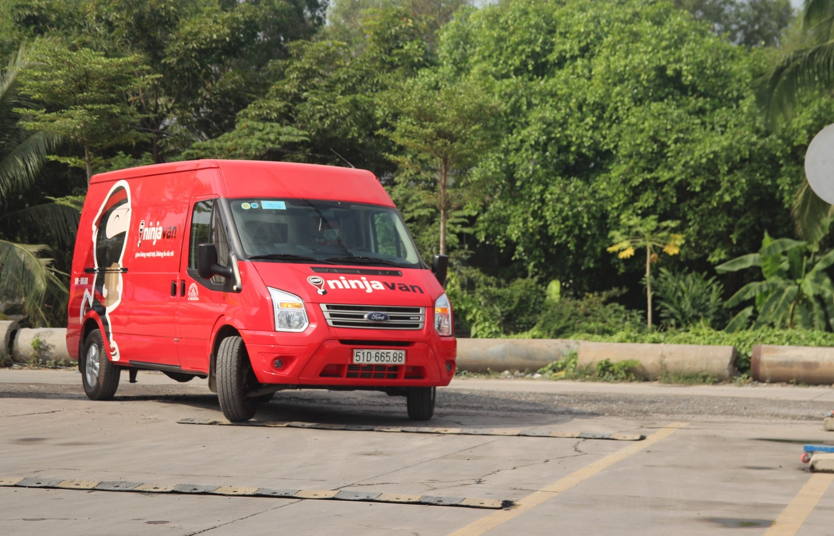 Ninja Van secures $578 million in a Series E funding round backed by Alibaba