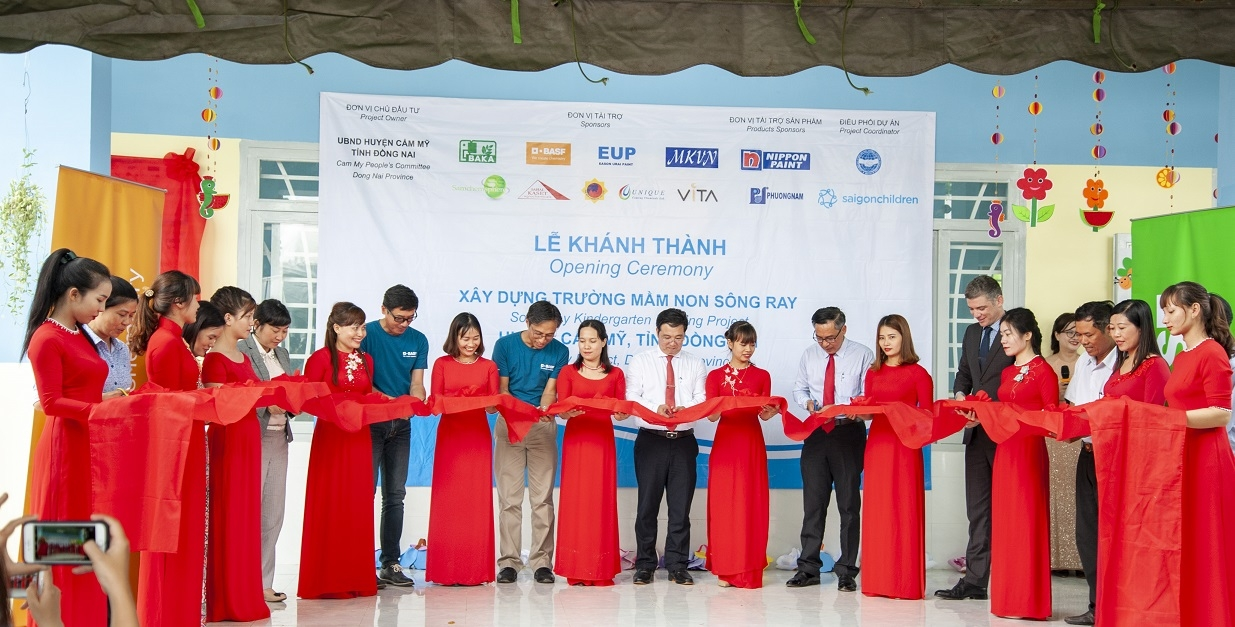 BASF creates safer eco-friendly learning environment in Dong Nai