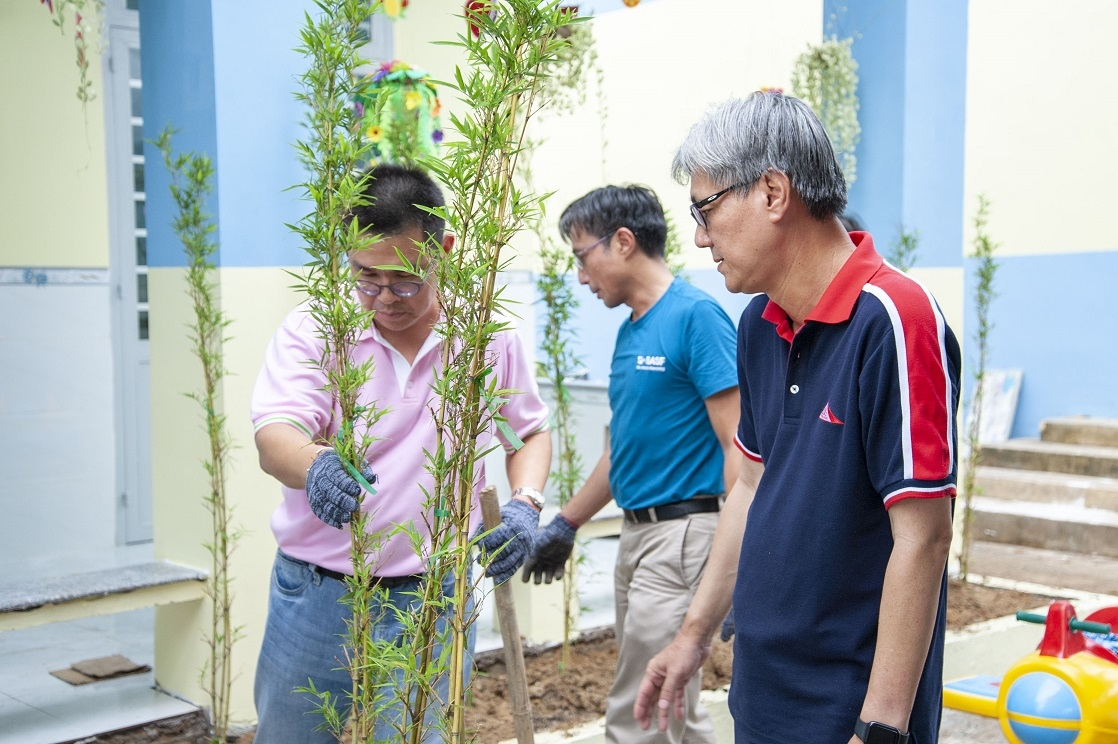 basf creates safer eco friendly learning environment in dong nai