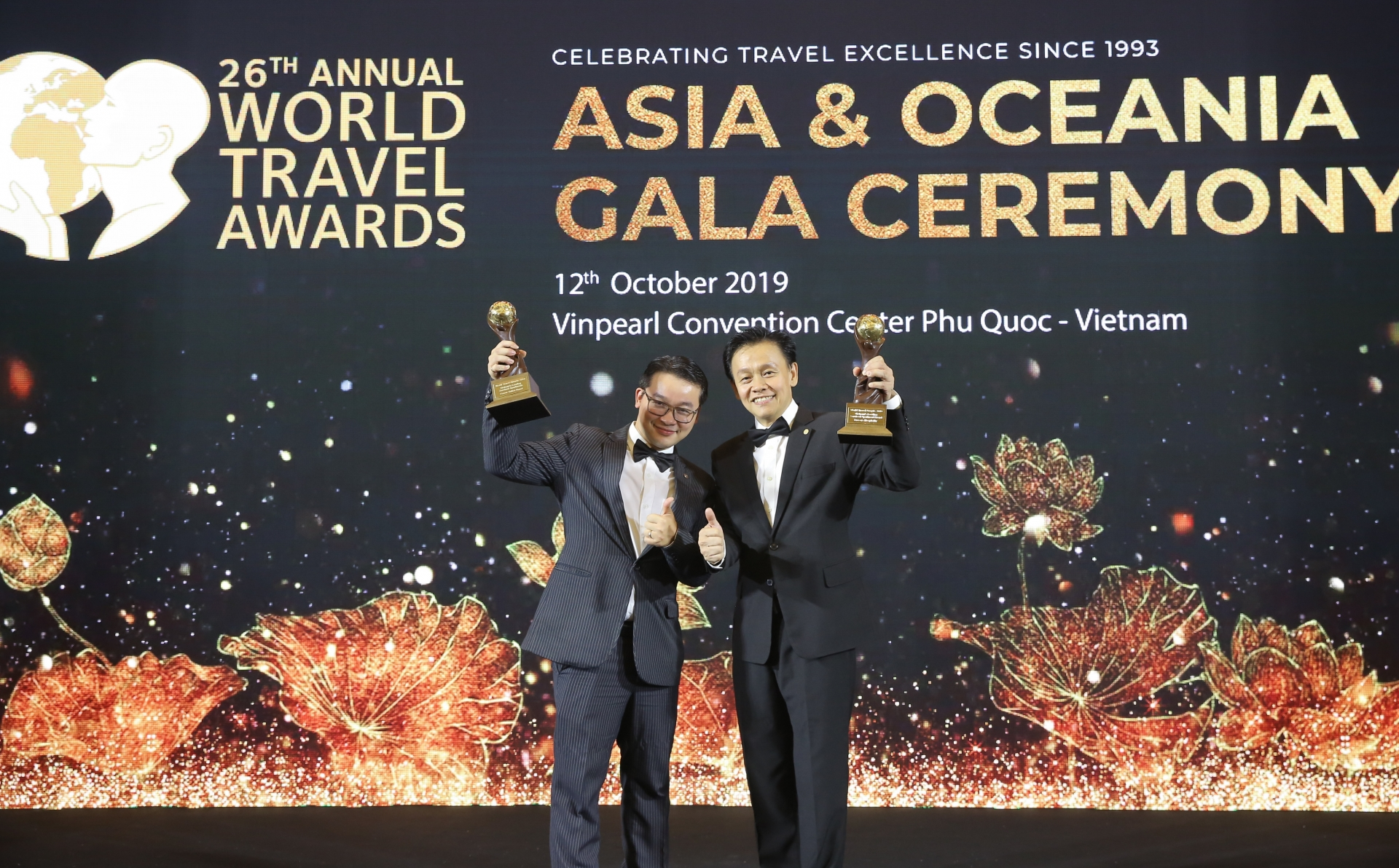 Frasers Hospitality bags six awards at 2019 WTA for Asia & Oceania