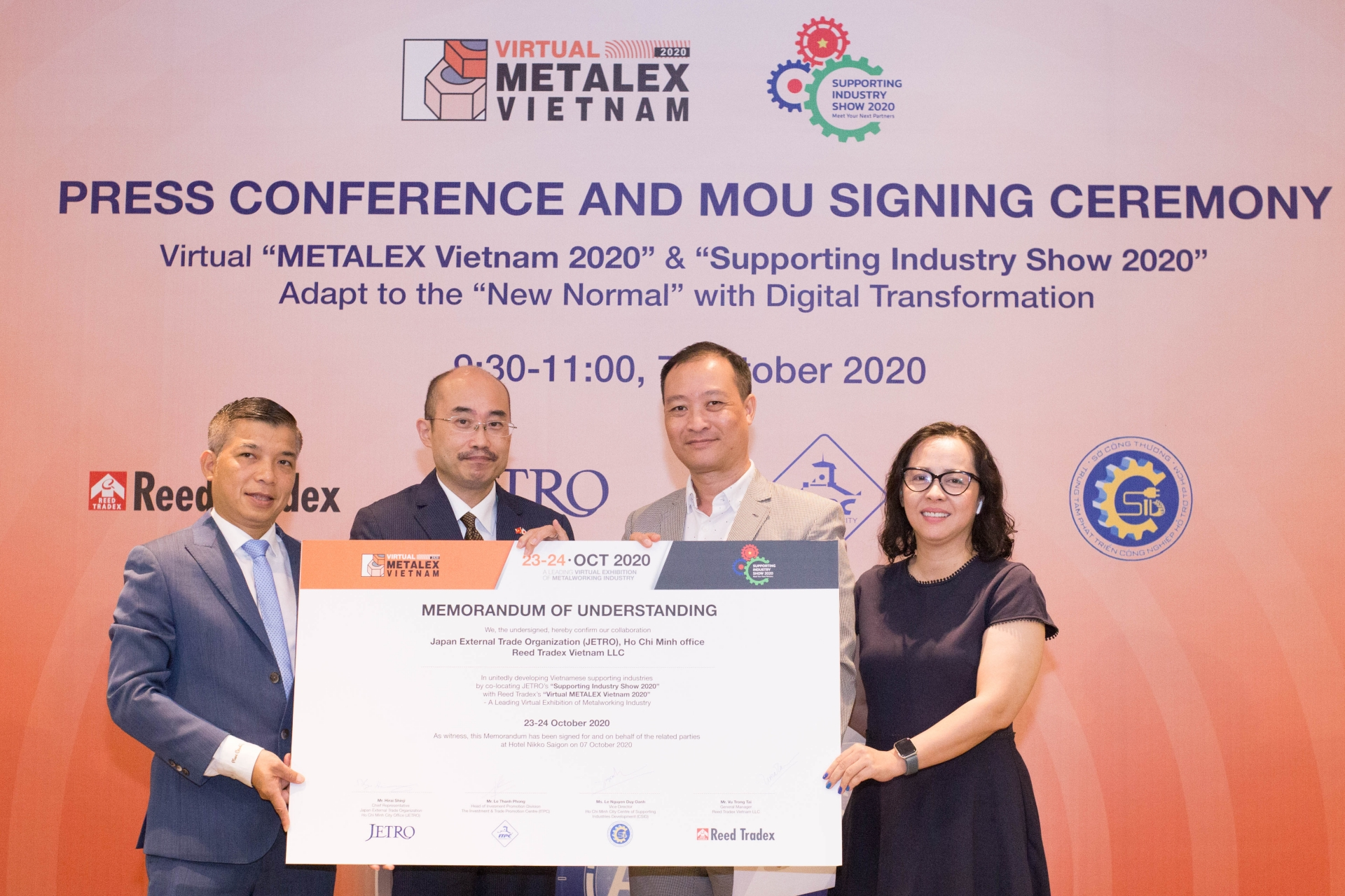 Virtual METALEX Vietnam 2020 and  Supporting Industry Show 2020 on horizon
