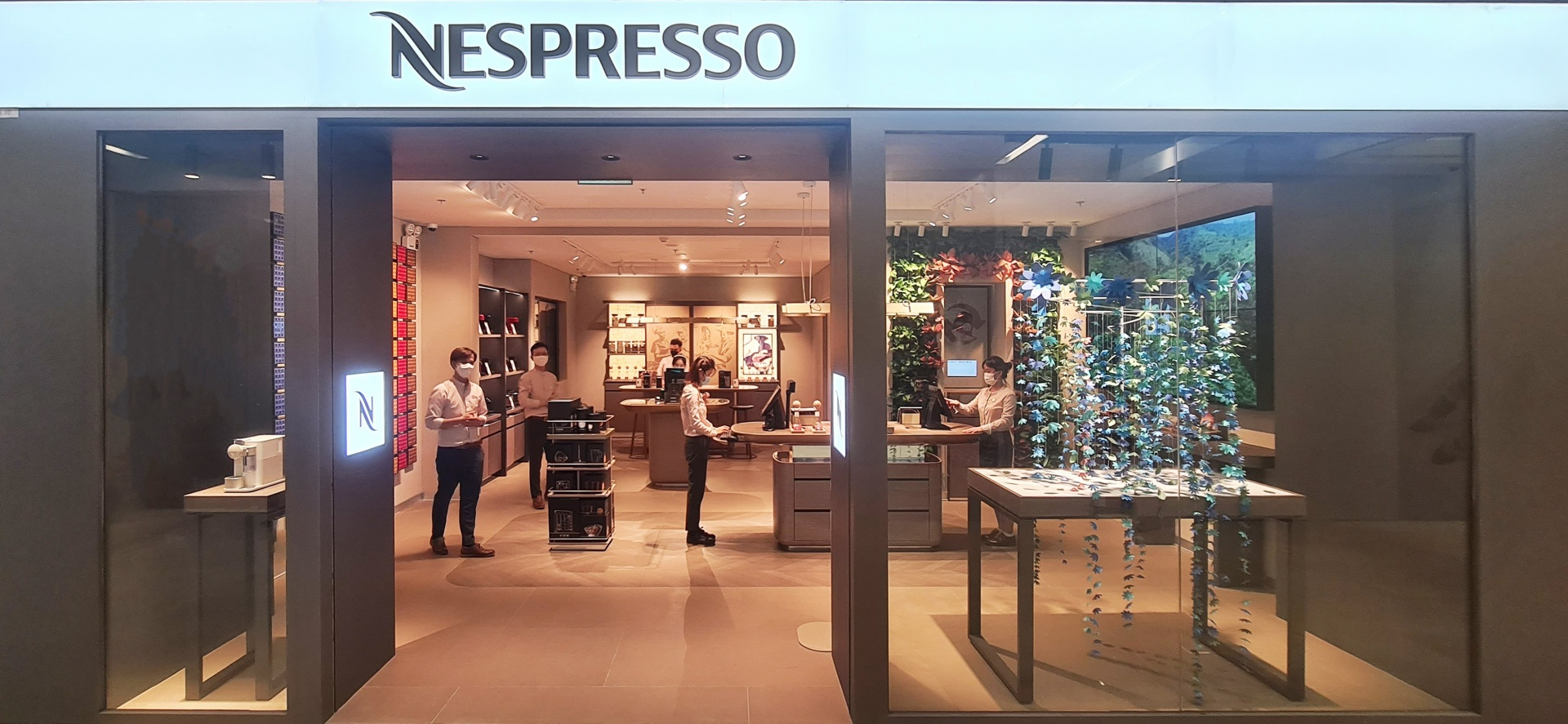 Nespresso Boutique opens Saigon Center outlet with new coffee experience