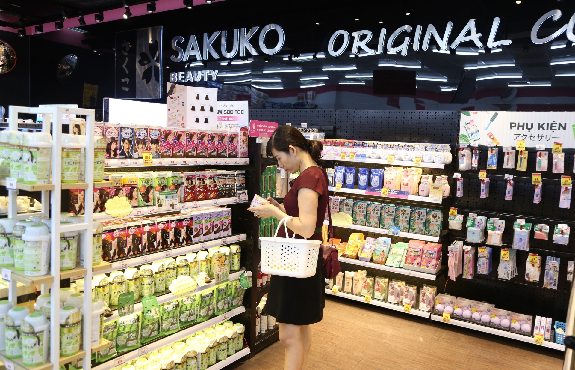 Japanese retailers are committed to the huge potential of the Vietnamese market