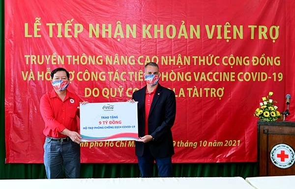 The Coca-Cola Foundation grants $400,000 for COVID-19 relief and response in Vietnam