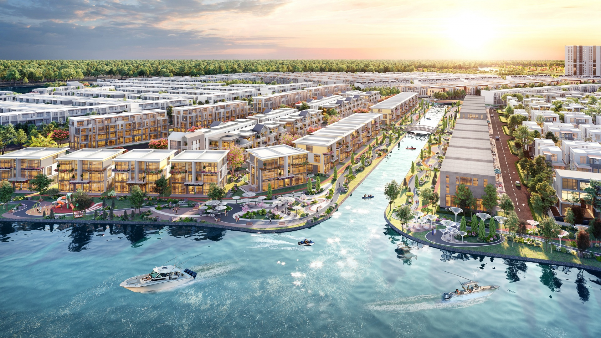 High-class amenities elevate value of Aqua City