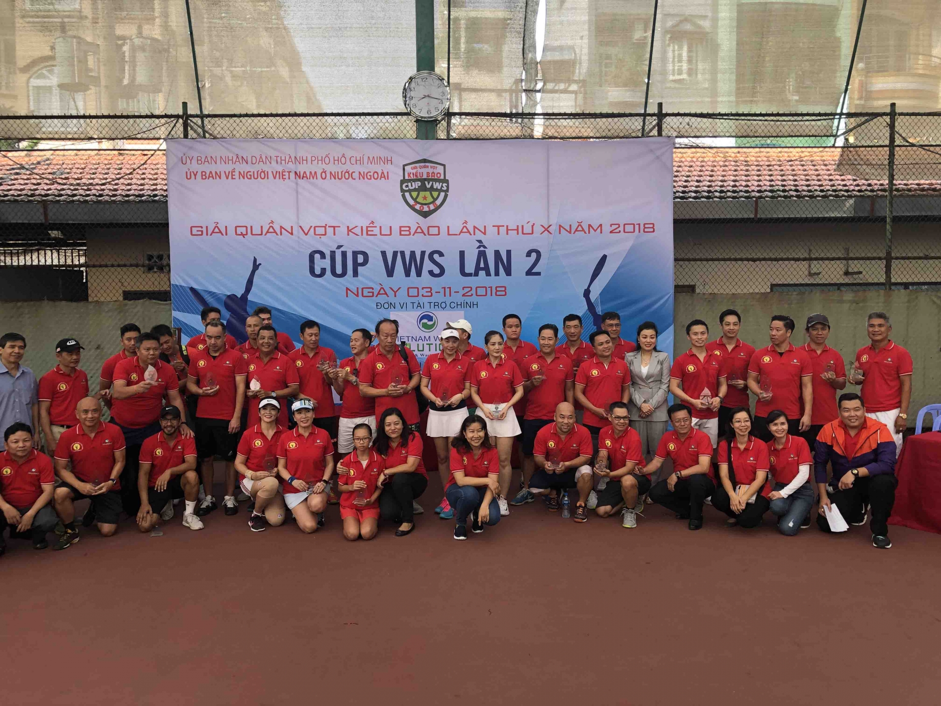 the 10th overseas vietnamese tennis tournament kicked off on sunday