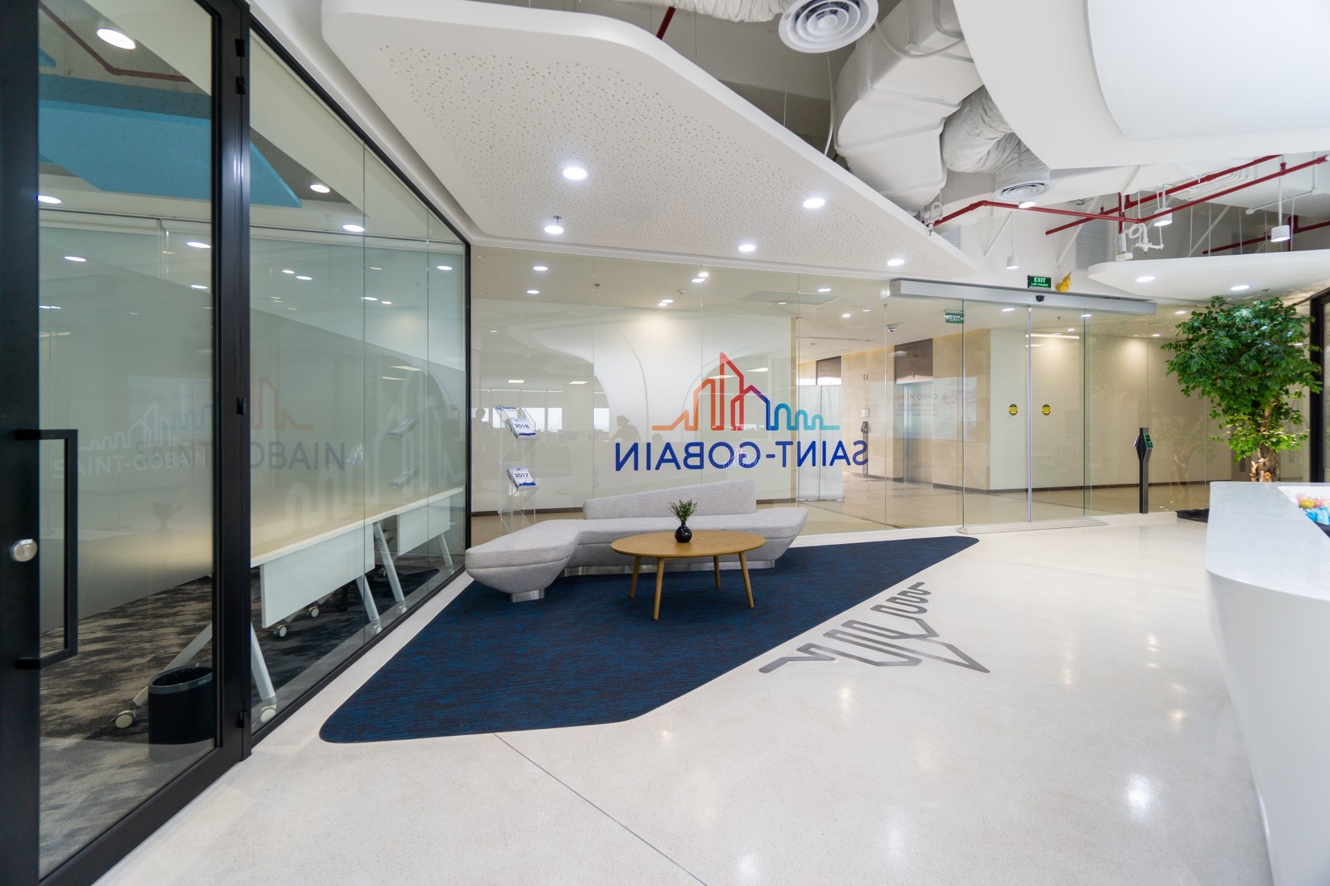 Saint-Gobain designs offices to improve productivity by 20 per cent