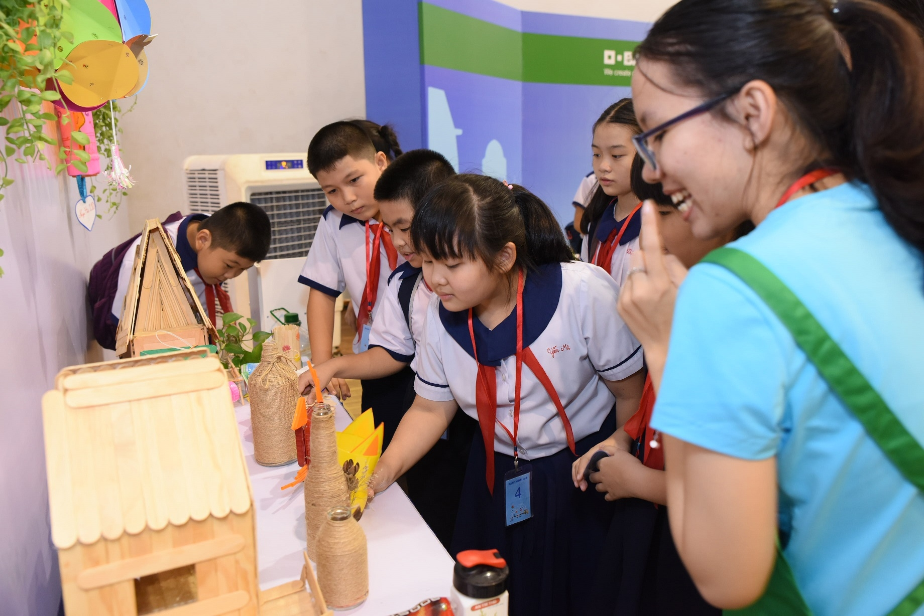 650 children learn about recycling at basf kids lab