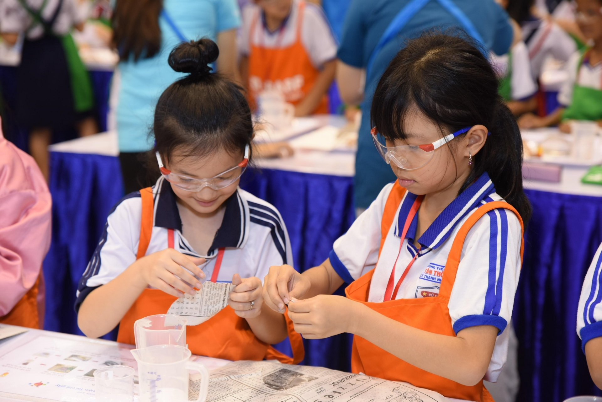 650 children learn about recycling at BASF Kids' Lab