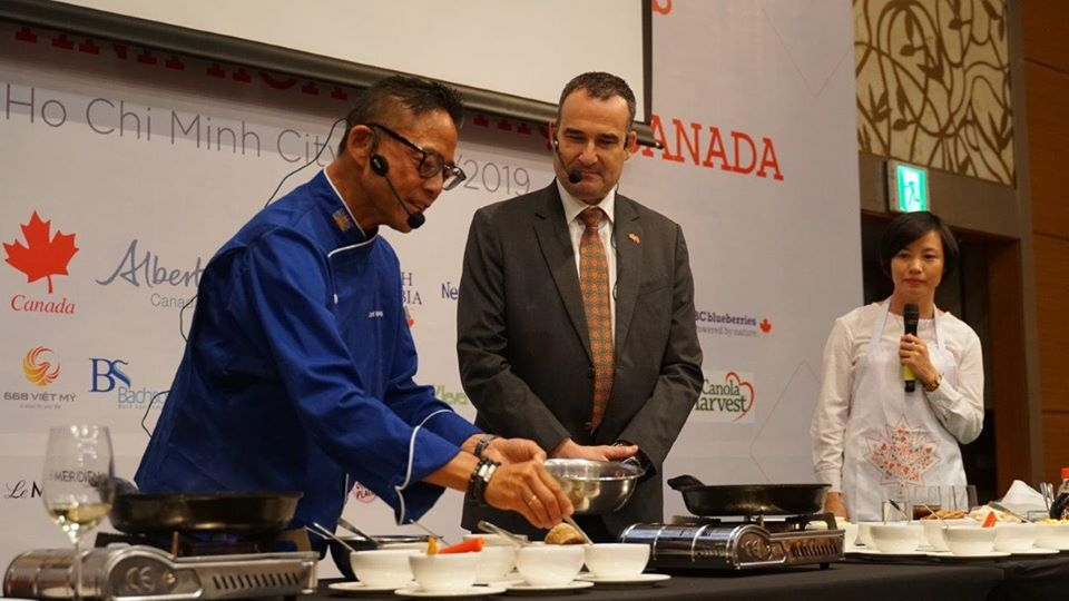 canadian agri and seafood on show at canadian delicacies